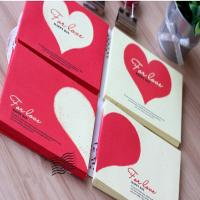 Buy cheap Heart  Paper Envelope For Name Cards Packaging from wholesalers