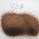 Buy cheap Sandblasting abrasive 30-60mesh brown garnet sand for blasting from wholesalers