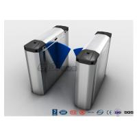 Buy cheap 304 Stainless Steel Heavy Duty Automatic Flap Barrier Turnstile For Entrance & from wholesalers