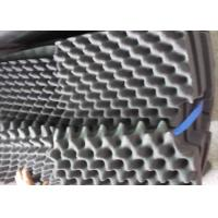 Buy cheap Black Egg Shaped Sound Absorbing Foam Mat 400 * 500 * 35mm from wholesalers