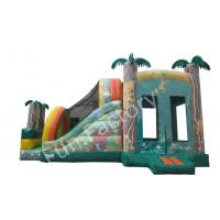 Buy cheap Coconut Tree Toddler Bounce House Miami With Separate Slide For Playland from wholesalers