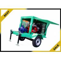 Buy cheap Movable Water Cooled Diesel Powered Water Pump With Two Wheels OEM from wholesalers
