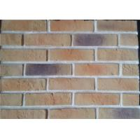 Buy cheap Lightweight Artificial Outdoor Faux Brick Panels For Apartment / Hospital / University from wholesalers
