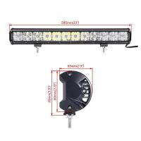 Buy cheap Made in China auto roof white Cross DRL lighting 21.5'' cree 120w 7D rally led driving light bar from wholesalers