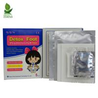Buy cheap Bana Wholesale 5Bags Blue And White Box FDA Bamboo Detox Foot Pads from wholesalers