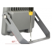 China 60W Cool White 211.5*251.5*41mm Solar Powered Flood Lights on sale