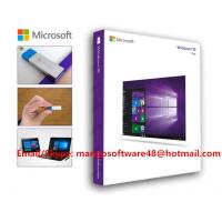 Buy cheap Genuine Computer Software System Windows 10 Professional from wholesalers