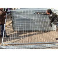 Buy cheap Temporary Fencing Panels imported temp fence 2.1mx2.4m mesh opening 60mm x 150mm diameter 3.80mm from wholesalers
