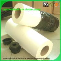 Buy cheap Wholesale 40gsm 45gsm 50gsm 55gsm Printable PVC self adhesive paper for print plotters from wholesalers