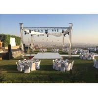 Buy cheap Hard Pressed Aluminum Stage Truss 6061T6 Material For Wedding Decoration from wholesalers