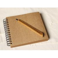 Buy cheap Wedding Guestbook // Kraft Scrapbook Album // Spiral Bound // Kraft photo album/ wedding g product