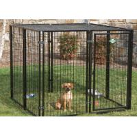 Buy cheap Portable Large Dog Pens For Outside , Animal Steel Dog Pen No Sharp Edges from wholesalers