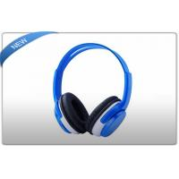 Buy cheap Blue Universal Wireless SD Card Headphones for In - Car Video Listening product