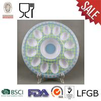 Buy cheap Melamine Round Egg Tray with logo from wholesalers