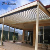 Quality China wholesales quality assurance External pergola opening louver waterproof for sale
