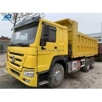 China 25-30 Tons Used Commercial Trucks ,  Second Hand Tractor 371hp Hw76 Model Cabin on sale