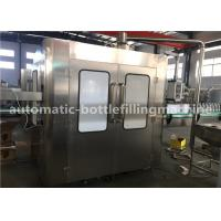 Buy cheap Soft Carbonated Drink Filling Machine , Low Noise Soda Water Bottling Line from wholesalers