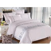 Buy cheap Embroidery White Hotel Collection Bedding Duvet Covers For Home Spa Queen Size from wholesalers