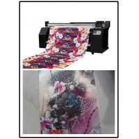 Buy cheap Digital Inkjet Fabric Sublimation Printing Plotter Machine 1400DPI from wholesalers
