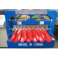 Buy cheap Toching Screen Roofing Sheet Making Machine Aluminium Roll Forming Machine 5.5Kw from wholesalers