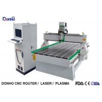 Buy cheap 3.0 KW Air Cooling Spindle CNC 3D Router Machine With NC Studio Online Control System from wholesalers