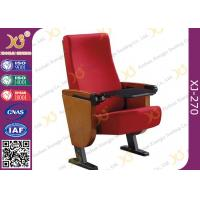 Buy cheap Foldable Polyester Fabric Cover Auditorium Theater Seating , Concert Audience Chair from wholesalers