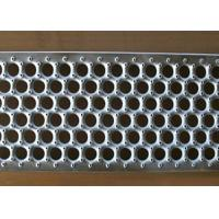 Buy cheap Perforated O Type Metal Safety Grating Used Industry Flooring Grip Strut Grating from wholesalers