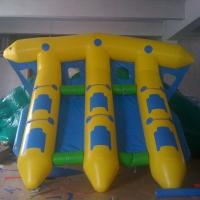 Buy cheap Factory Manufactured Inflatable Flyfish , PVC Tarpaulin Inflatable Water Flying Fish Boat from wholesalers