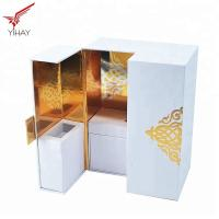 Buy cheap Soft Touch Paper Perfume Cosmetic Packaging Box High end Luxury Perfume Box from wholesalers