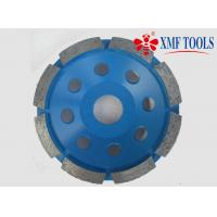 Buy cheap 105mm 5 Inch  9 Inch Concrete Grinding Disc For Granite Single Row Cup Blue from wholesalers