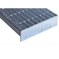 Strong Structure Bar Grating Treads , 32x5mm Forge Welded Steel Grate Steps