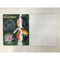 Buy cheap Flip Effct 3D 0.6 MM PET Custom 3D Lenticular Stickers With CMYK Printing product