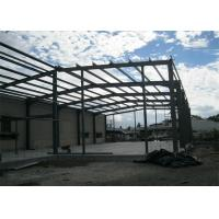 Buy cheap Single Span Steel Frame Warehouse Construction Fast Constructed For Industry from wholesalers