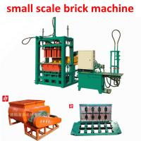 Buy cheap Mozambique  hot sale small scale brick production line less investment from wholesalers