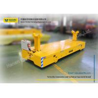 Buy cheap Machinery Heavy Duty Die Carts / Powered Trolley Cart Works Handling Trailer from wholesalers