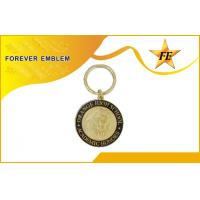 Buy cheap Custom Metal Promotional Keychains / Metal Key Ring For Business Gift from wholesalers