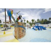 Buy cheap Fiberglass Pirate Ship Amusement Park Equipment For Spray Play product