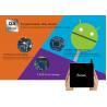 Buy cheap HD 4K × 2K Rockchip TV Box External WiFi Antenna Ethernet 100M / LAN Multi from wholesalers