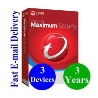 Buy cheap Digital Key Trends Computer Software System Online Download Micro 2019 Maximum Security 3 Year 3 Device from wholesalers