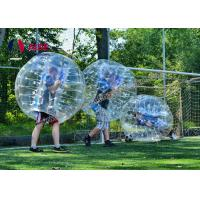 Buy cheap Free Blower Bubble Ball Inflatable Bumper Ball Cheap Inflatable Ball Air Soccer Ball Wholesale price from wholesalers