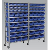 Buy cheap Bin Storage Commercial Wire Shelving System 10 Shelves With 5 Inch Caster from wholesalers