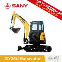 Buy cheap SANY SY35C 3.5t Small Cheap Mini Excavator with CE Certification of Digger Machine for Garden Use from wholesalers