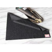 Buy cheap Black And Grey Twill Wool Fabric Thin Yarn Type In Stock 60 Wool 400g / M from wholesalers