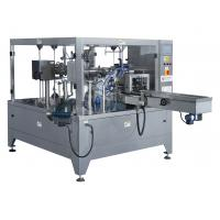 Buy cheap Electrical Motor Rotary Pouch Packing Machine , Quick Automatic Pouch Filling Machine from wholesalers