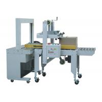 Buy cheap Long Life Automatic Carton Sealing And Strapping Machine Cartoning Machine from wholesalers