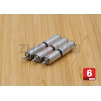 Buy cheap Micro DC Geared Motor Diameter 6mm 3V / Small Low rpm Electric Motor from wholesalers