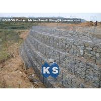Buy cheap Galvanized Wire Gabion Retaining Walls Plastic or Stainless Steel Wire PE Coating Gabion Mattress from wholesalers