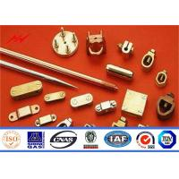Buy cheap High Precision Pure Copper Weld Steel Ground Rod Well Agglutination from wholesalers