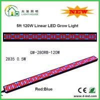 Buy cheap IP44 High Brightness Linear Grow Lights For Indoor Plants , PPMA Cover product