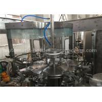 Customized Purified Water Filling Machine , Easy Operating Gravity Filling Machine
